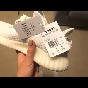 Yeezy Shoes - Yeezy Boost 350 White Mens US Size 8.5